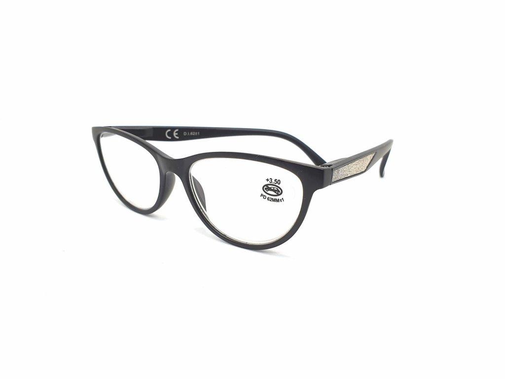 Dioptrické brýle SV2024/ +3,50 s flexem black