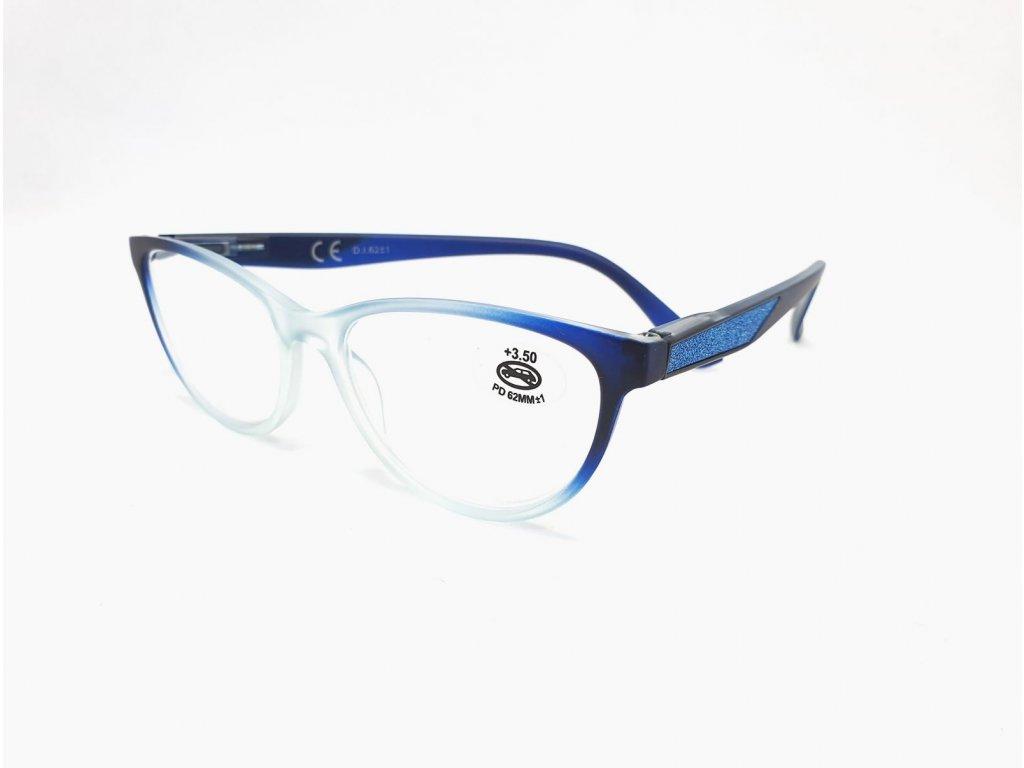 Dioptrické brýle SV2024/ +3,00 s flexem blue