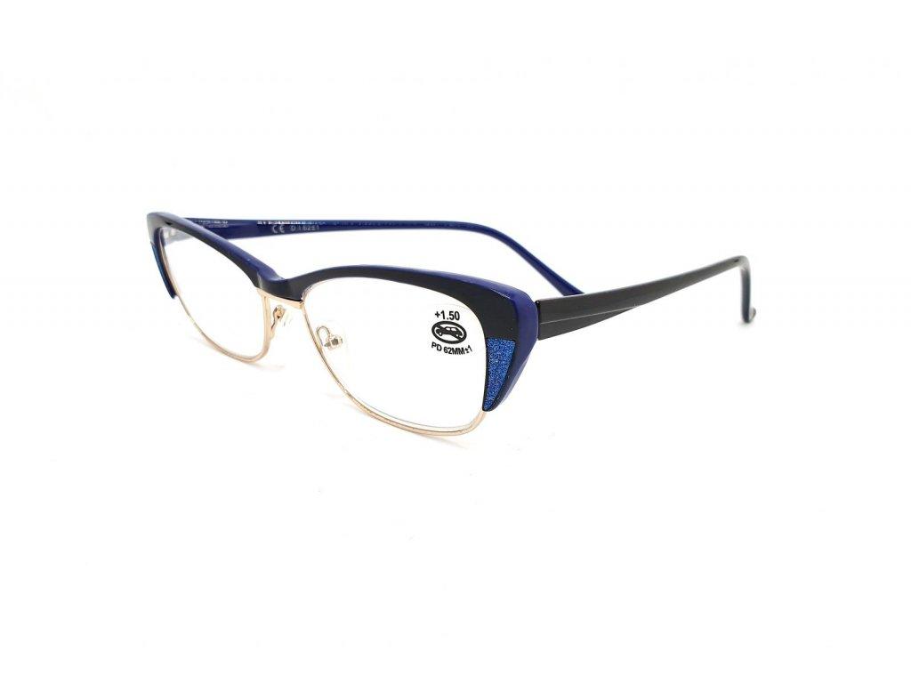 Dioptrické brýle SV2067/ +3,50 s flexem blue