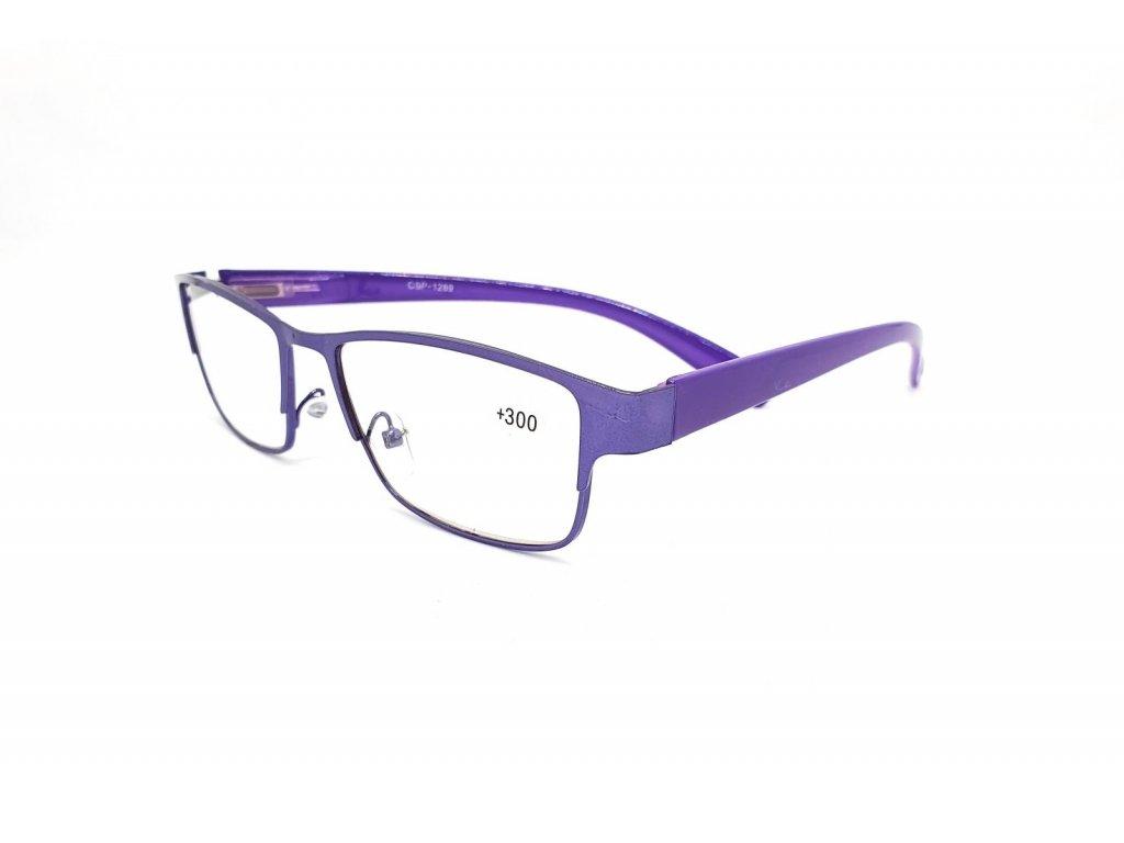 Dioptrické brýle CSP1289/ +3,00 s flexem