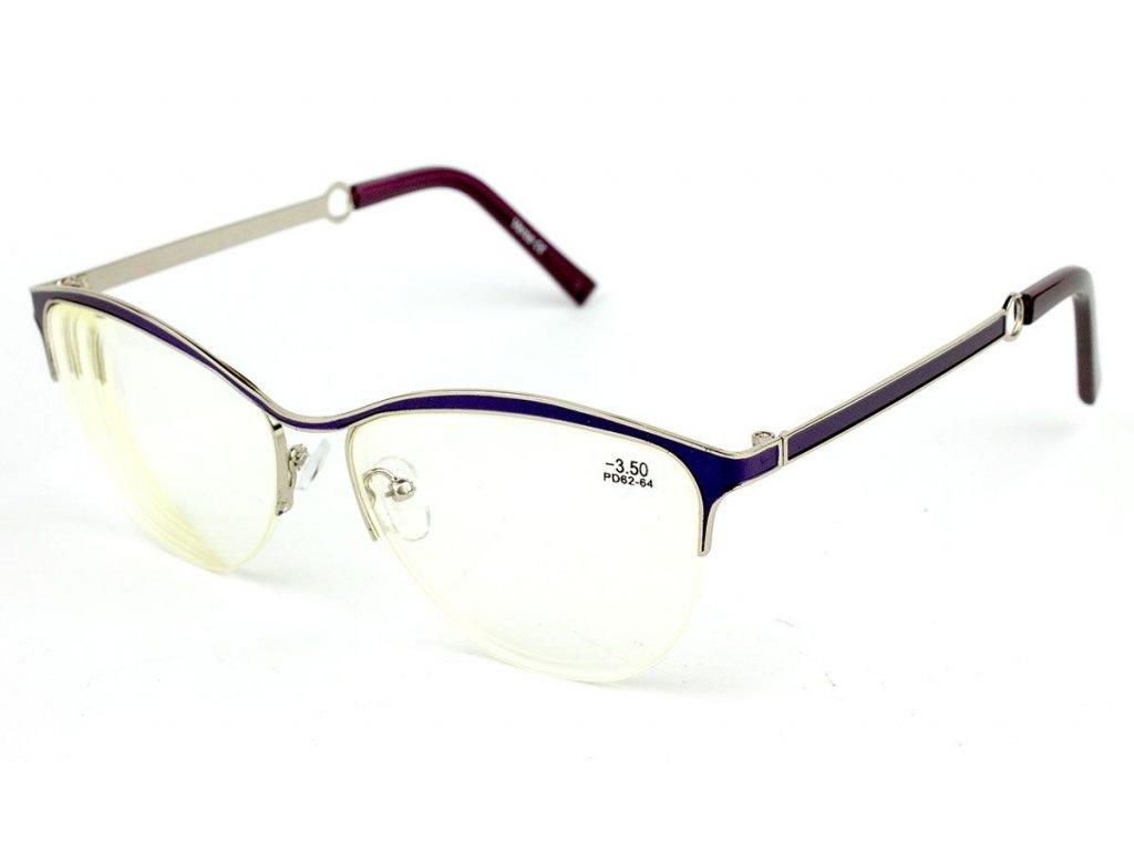 Dioptrické brýle na počítač 1811S Blueblocker +4,00