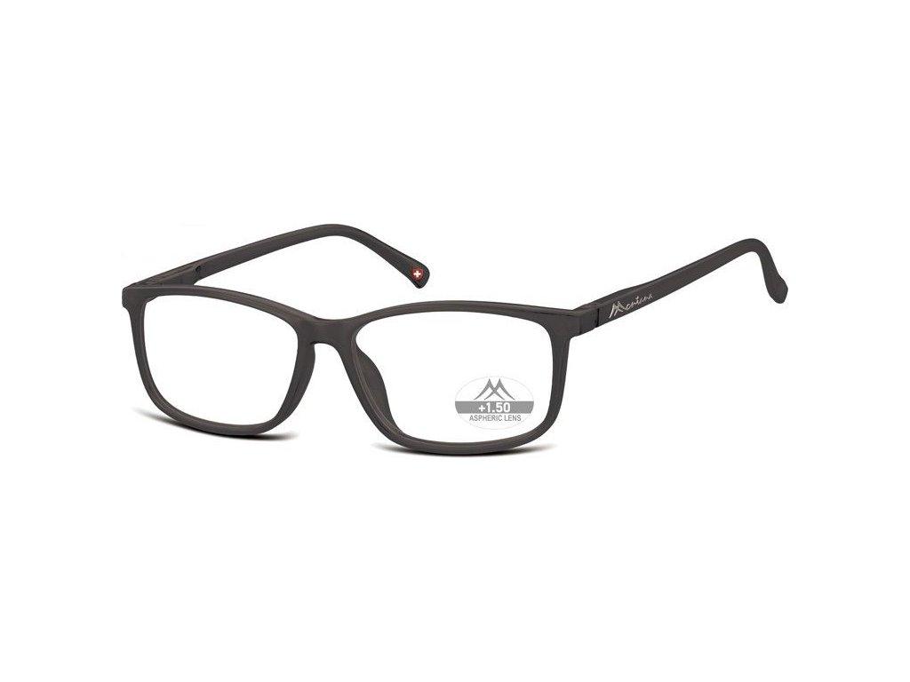 MONTANA EYEWEAR Dioptrické brýle MR62H Black/ +1,50 flex