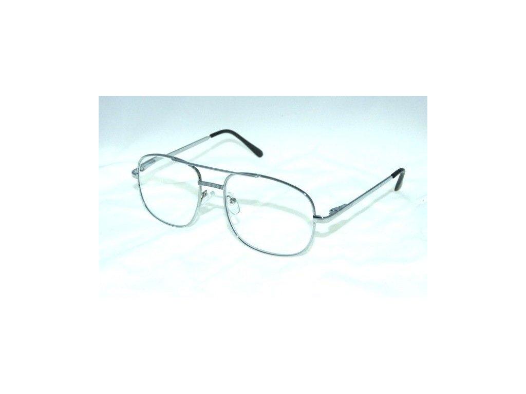 Dioptrické brýle M117S +1,00 silver