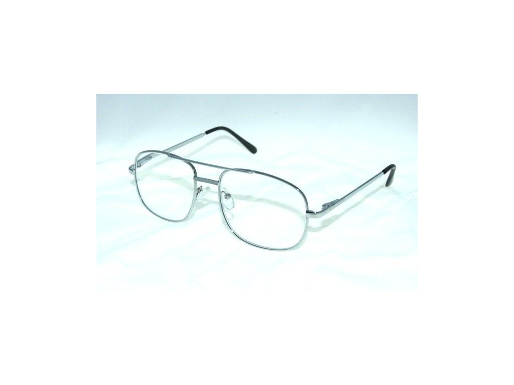 Dioptrické brýle M117S +1,50 silver