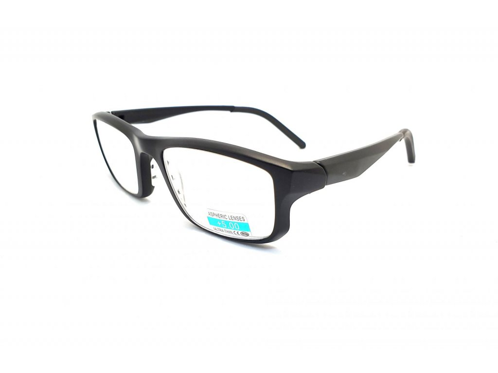 Dioptrické brýle na čtení P2.08 +5,00 BLACK