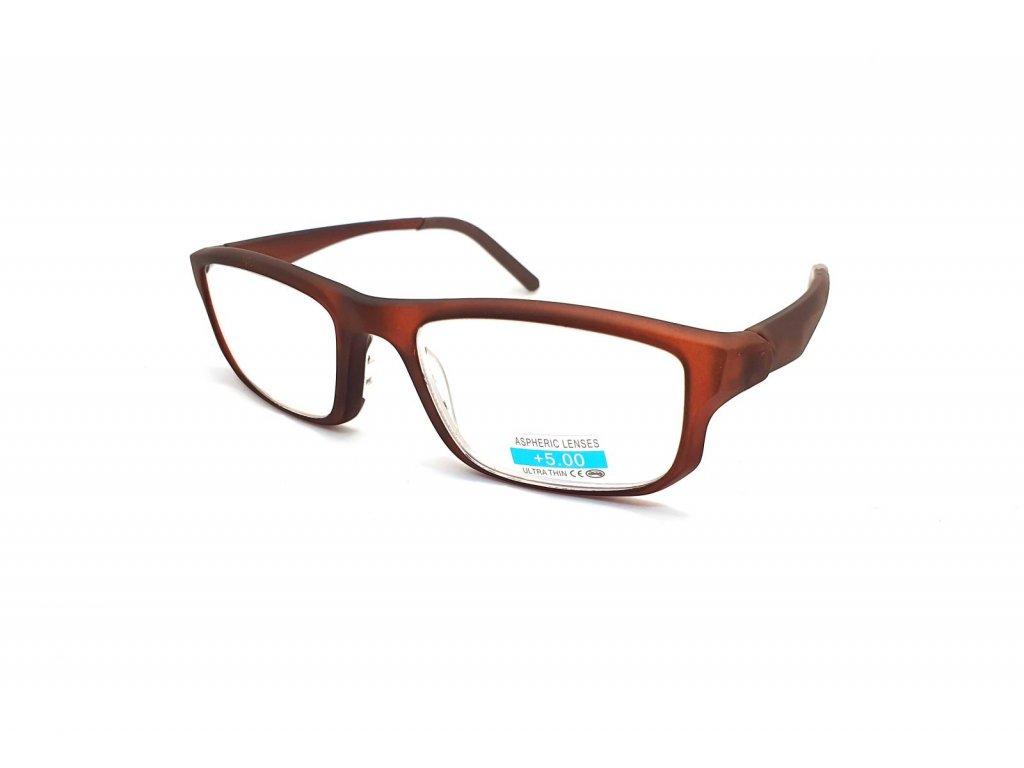 Dioptrické brýle na čtení P2.08 +5,00 BROWN