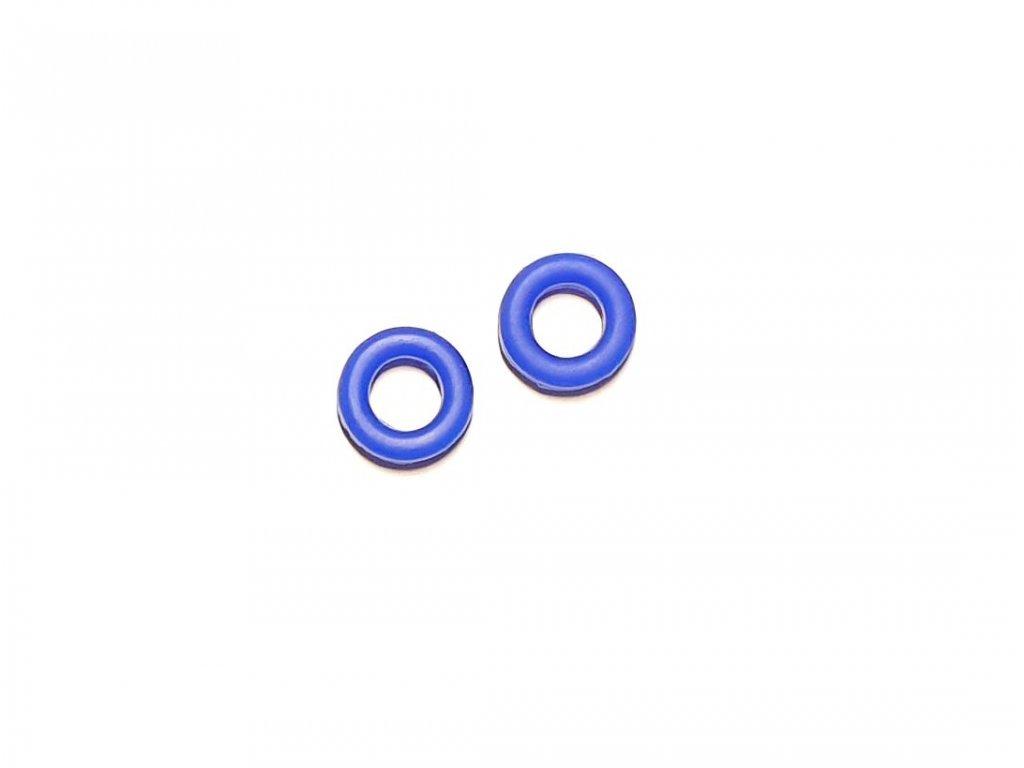 Protiskluzové silikonové nástavce (fixator) na brýle 2ks modrý