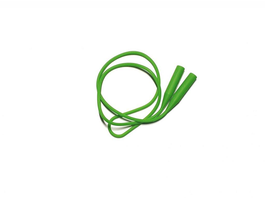 Šňůrka na brýle SILIKON zelená