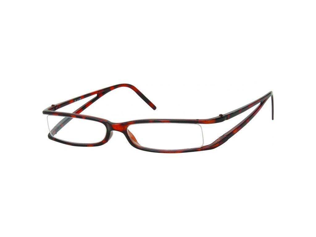 MONTANA EYEWEAR Dioptrické brýle R13A Brown +2,00