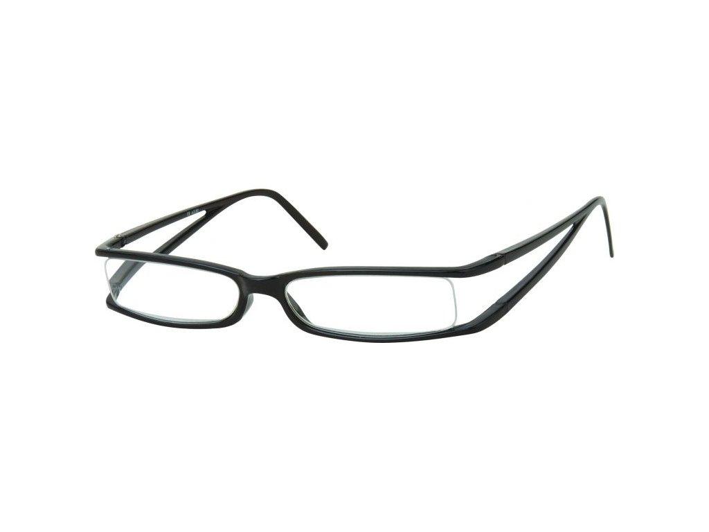 MONTANA EYEWEAR Dioptrické brýle R13B Black +2,00