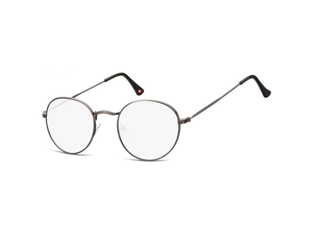 MONTANA EYEWEAR Brýle na počítač HBLF54 bez dioptrií v kovové obroučce