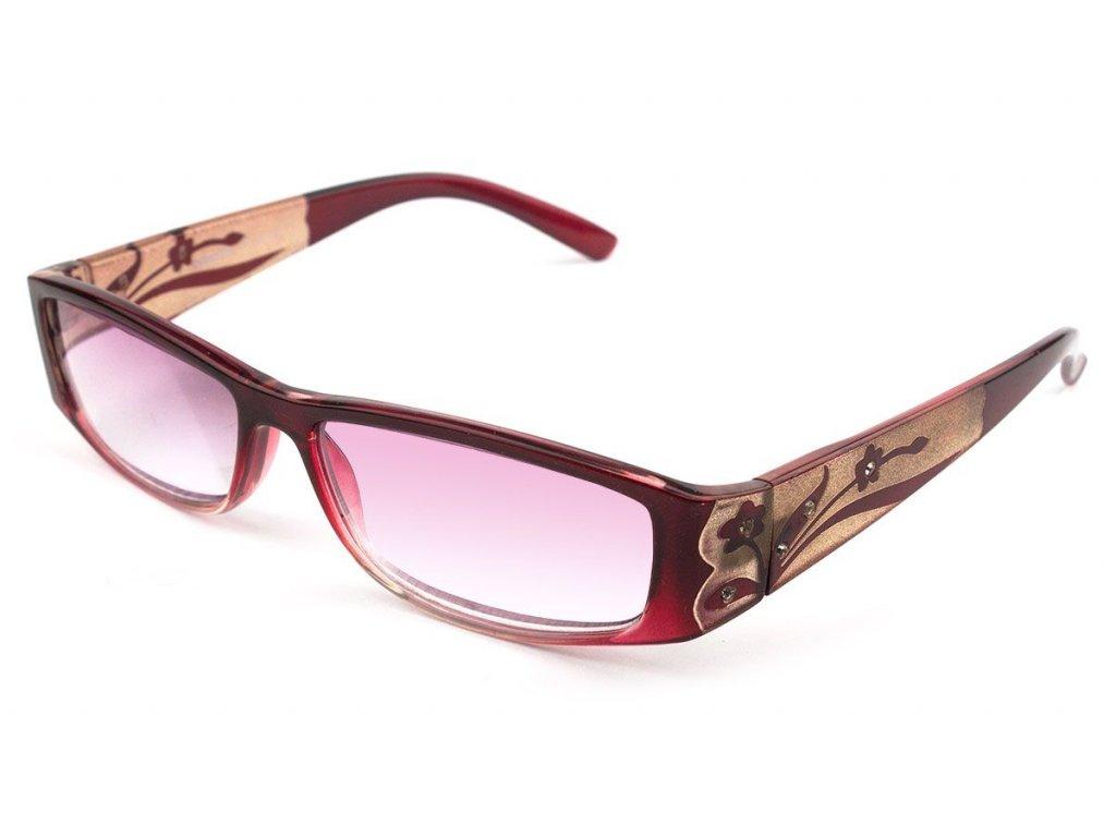 Dioptrické brýle Comfort 527/ -3,00 zabarvené čočky