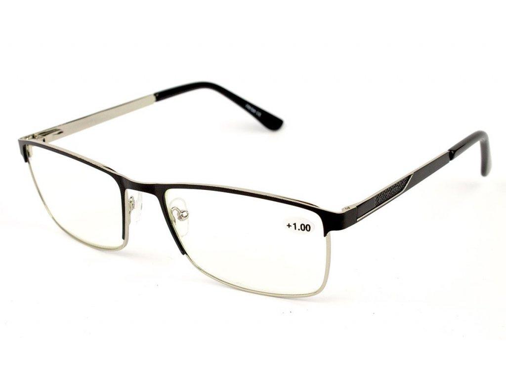 Dioptrické brýle na počítač 1816-C2  BLACK -1,00