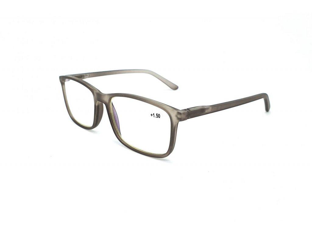 Brýle na počítač IDENTITY MC2172B /+3,50 grey