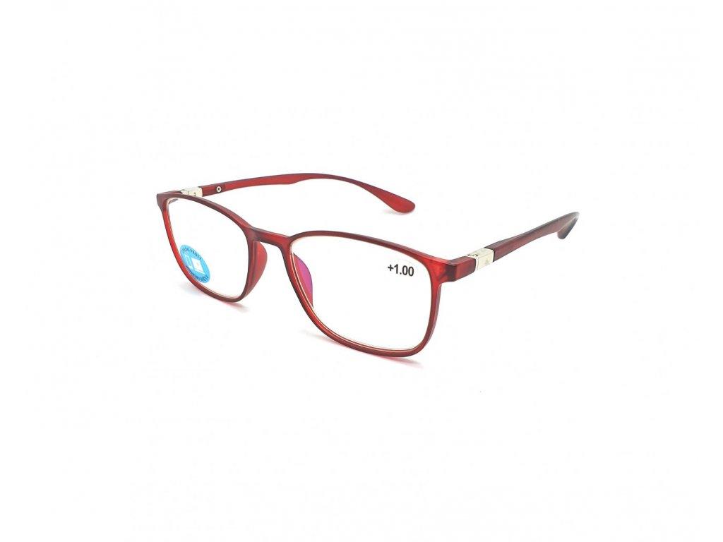 Brýle na počítač IDENTITY MC2176B /+0,00 red
