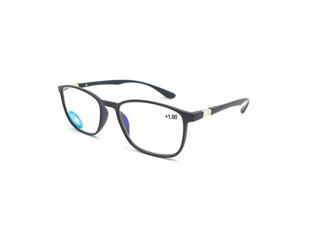 Brýle na počítač IDENTITY MC2176B /+2,50 black