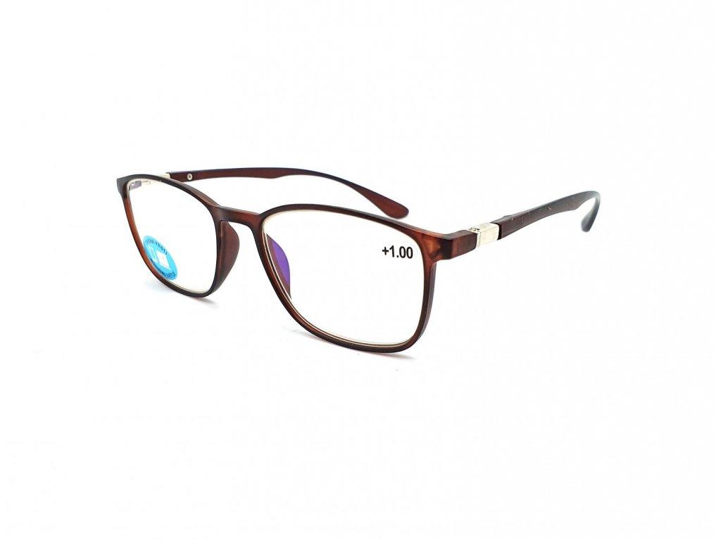 Brýle na počítač IDENTITY MC2176B /+4,00 brown