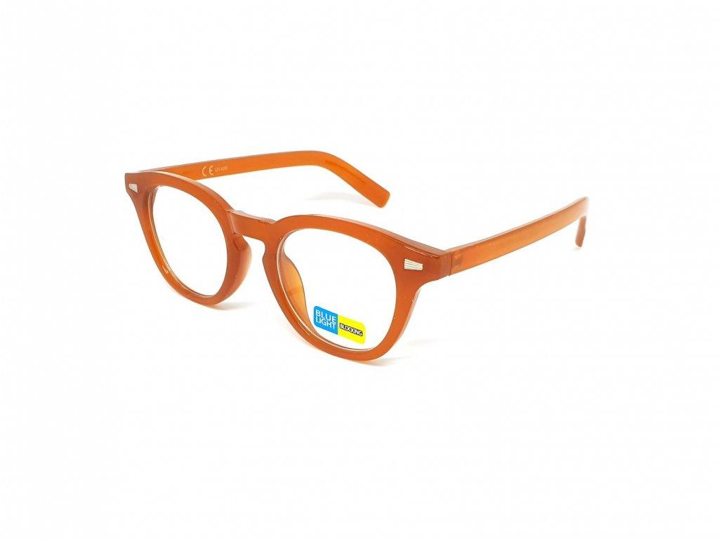 SeeVision Brýle na počítač B1193 brown - velikost S