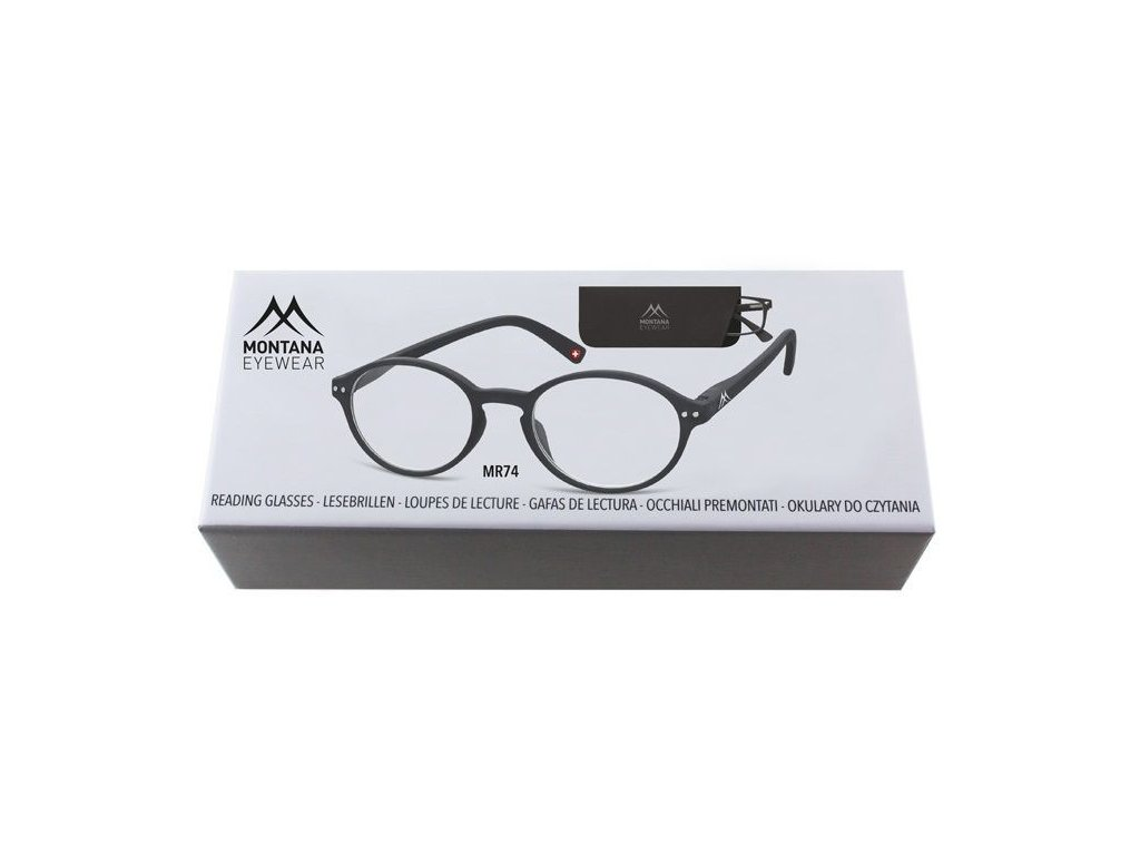 MONTANA EYEWEAR Dioptrické brýle BOX74 +2,00 flex