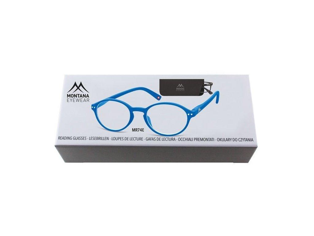 MONTANA EYEWEAR Dioptrické brýle BOX74E +2,00 flex