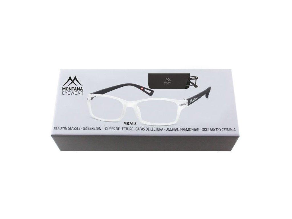 MONTANA EYEWEAR Dioptrické brýle BOX76D +1,00
