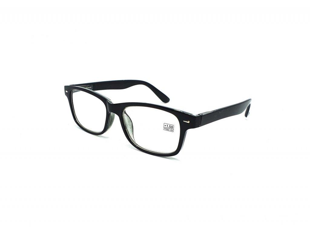 Dioptrické brýle BF19079 / +1,75 černé flex