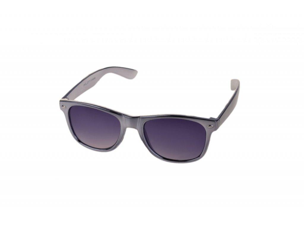 PILOT Sluneční brýle AM61011 CAT.3 stříbrné