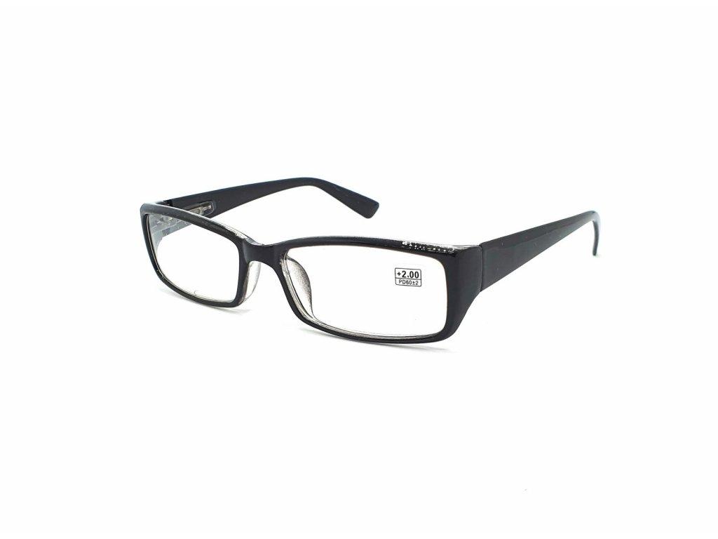 Dioptrické brýle 5003 / +1,75 černé flex
