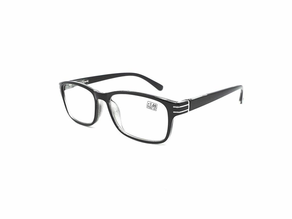 Dioptrické brýle 5005 / +0,50 s flexem black