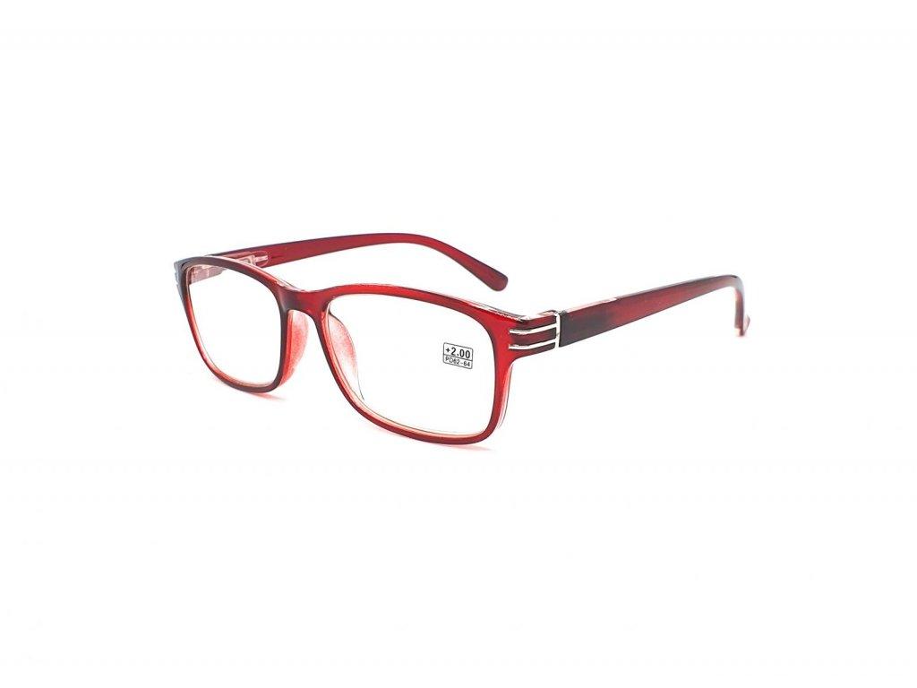 Dioptrické brýle 5005 / +2,00 s flexem vine