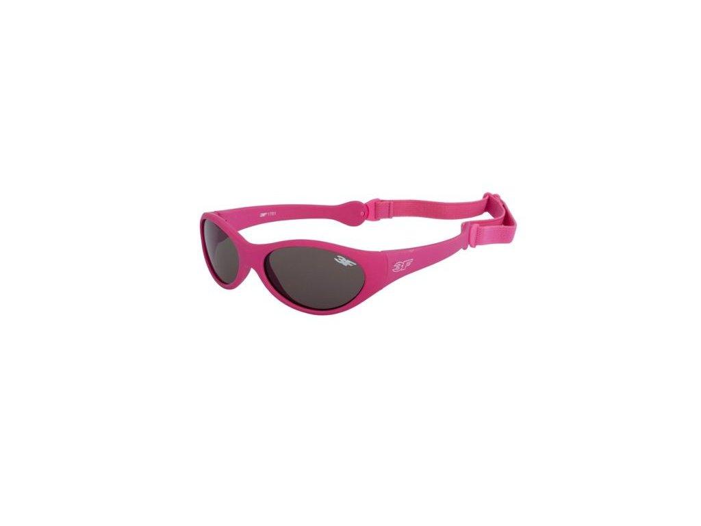3F Dětské sportovní brýle Rubber 1781 Cat.3 1-2 roky
