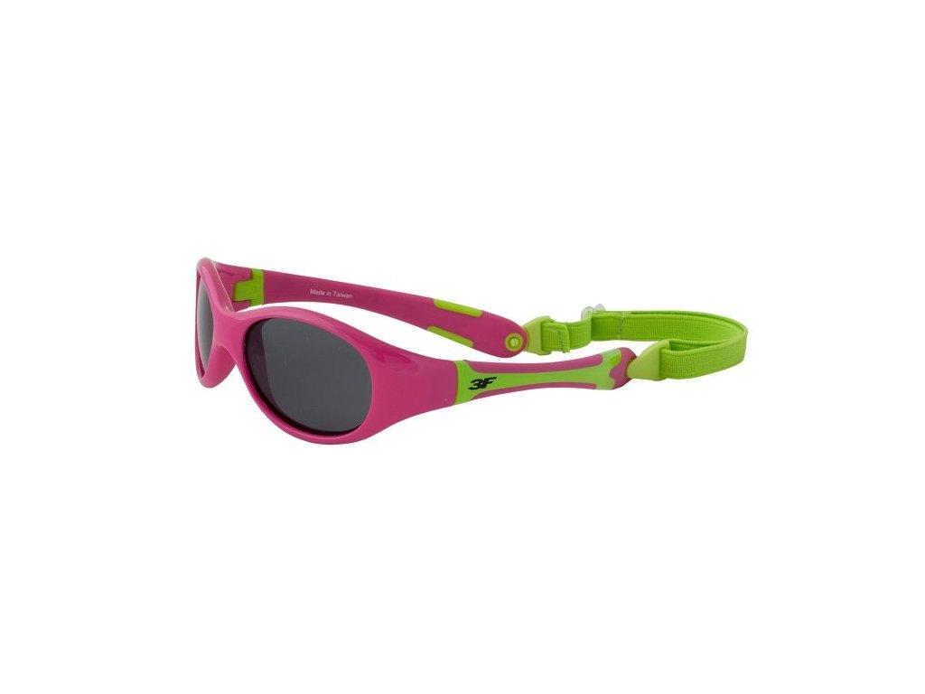 3F Dětské polarizační brýle Rubber 1858 Cat.3 1-2 roky
