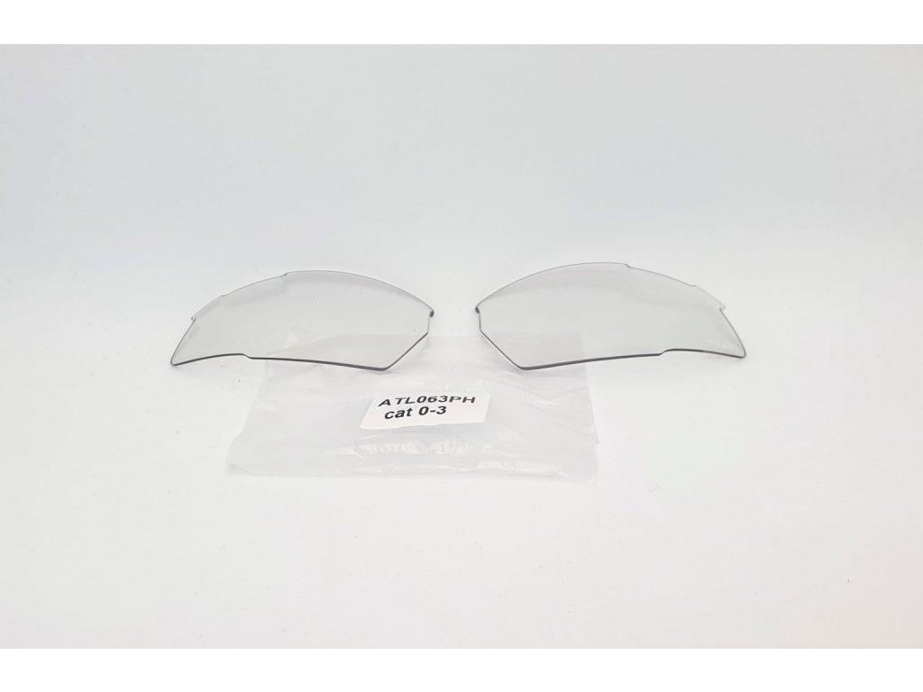 Náhradní čočky na brýle R2 Racer ATL063PH fotochromatické Cat.0-3