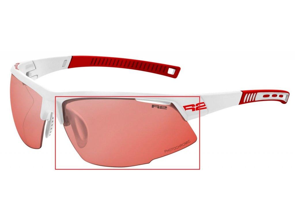 Náhradní čočky na brýle R2 Racer ATL063PHOR fotochromatické Cat.1-3