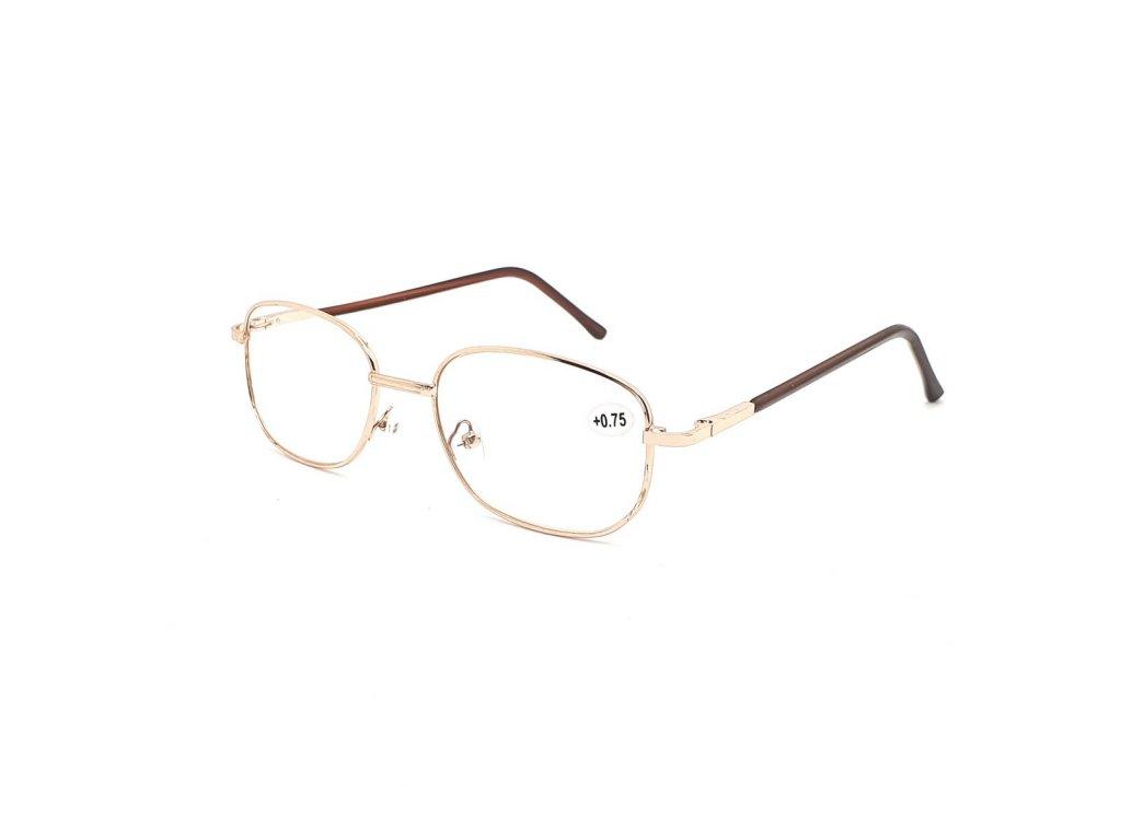Dioptrické brýle 804/ +2,75 s flexem gold