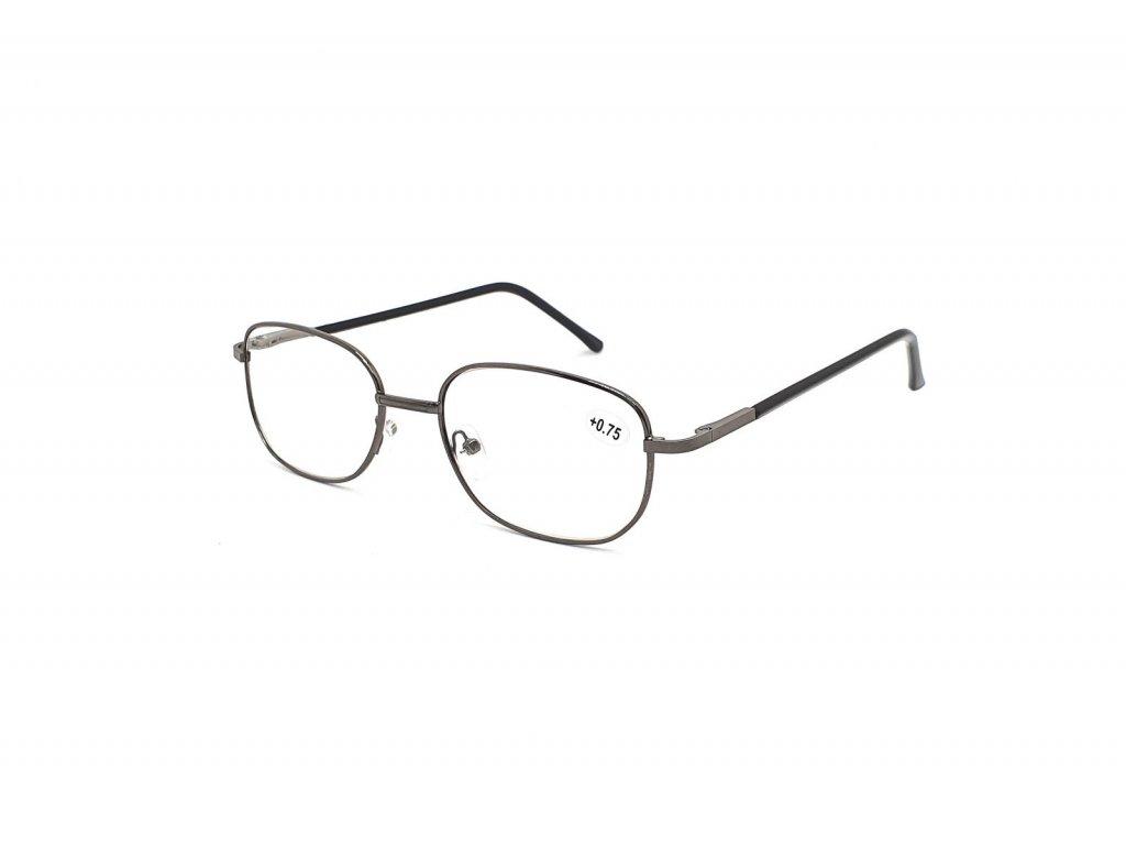 Dioptrické brýle 804/ +3,75 s flexem black