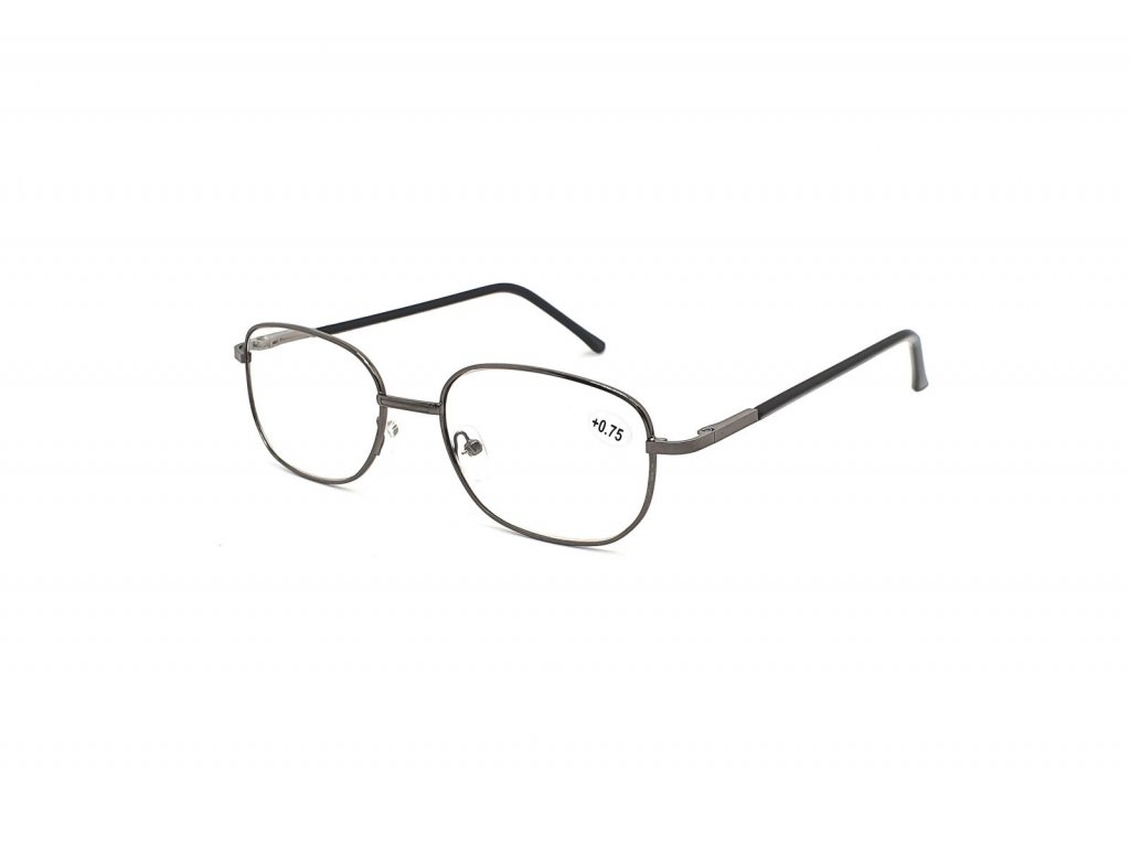 Dioptrické brýle 804/ +2,00 s flexem black