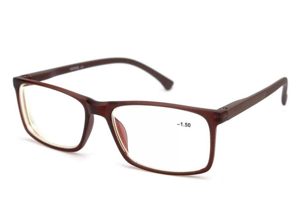 Dioptrické brýle na počítač 19172S-C2 blueblocker +1,25 brown