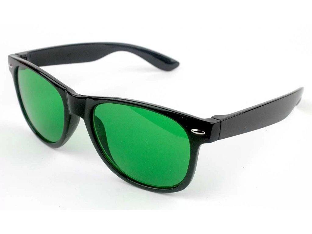Anti-glaukom brýle 001 Zelený zákal