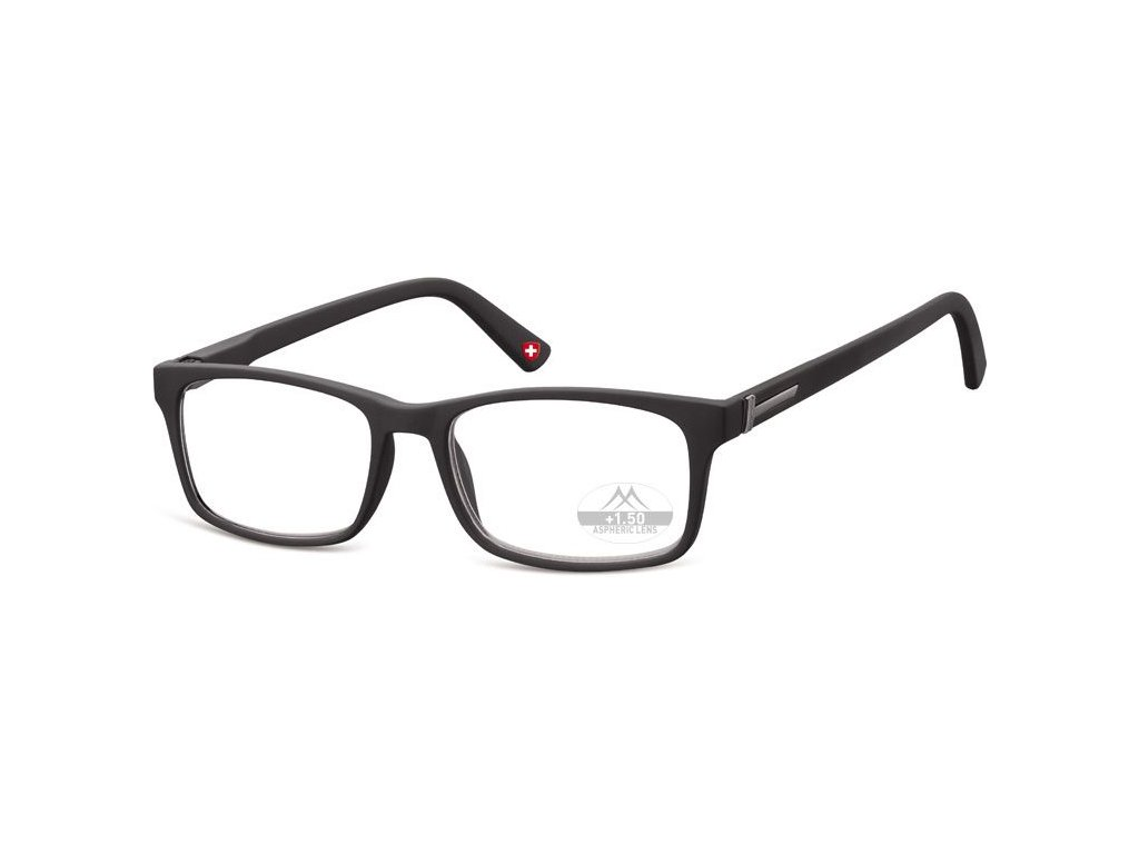 MONTANA EYEWEAR Dioptrické brýle MR73 BLACK+1,00 box