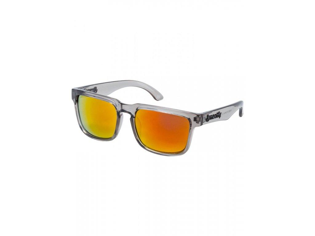 MEATFLY Sluneční brýle Meatfly Memphis, Glossy Smoke