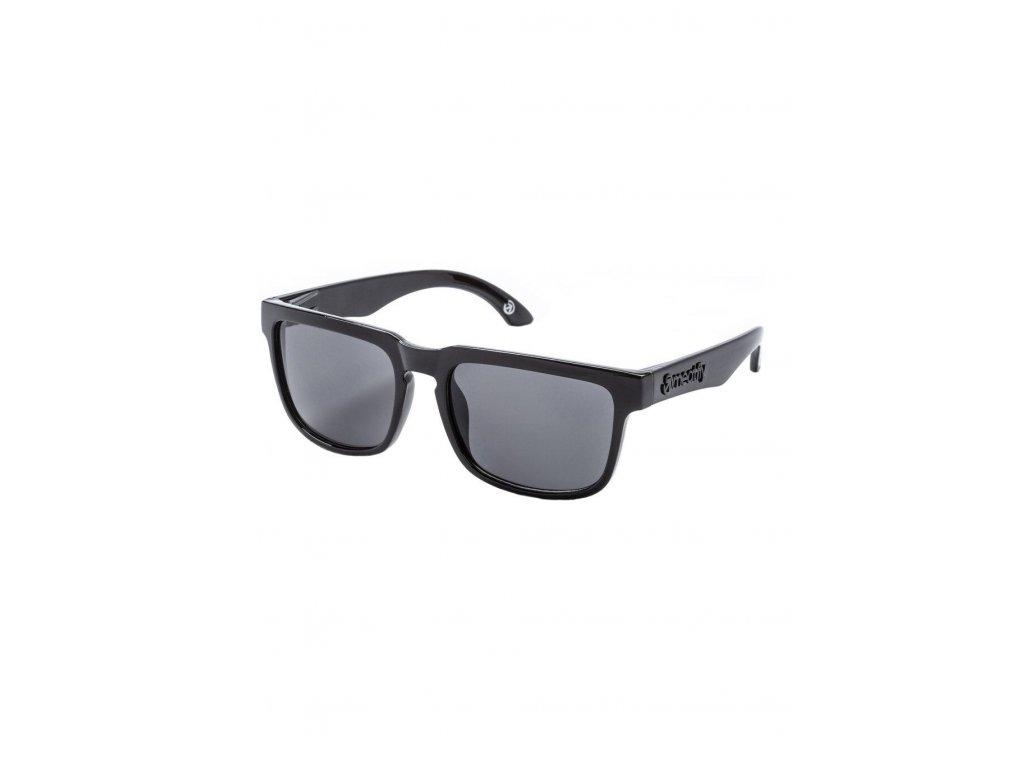 MEATFLY Sluneční brýle Meatfly Memphis, Black Glossy