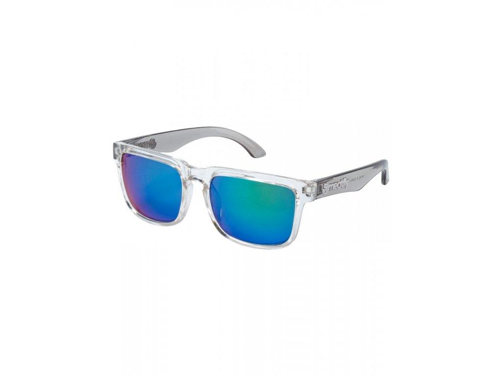 MEATFLY Sluneční brýle Meatfly Memphis, Clear/Smoke