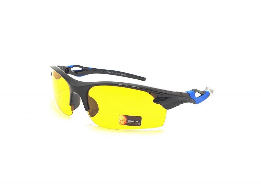 Polarizační brýle na noční vidění pro řidiče SGLPO2.174 CAT.1 balck-blue