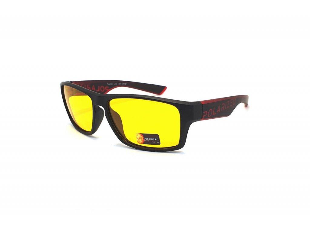Polarizační brýle na noční vidění pro řidiče SGLPO2.148 CAT.1 red