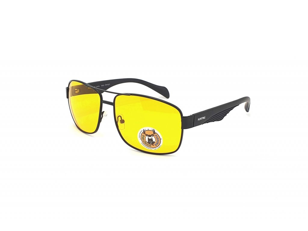 Polarizační brýle na noční vidění pro řidiče HP1.01 CAT.1 BLACK