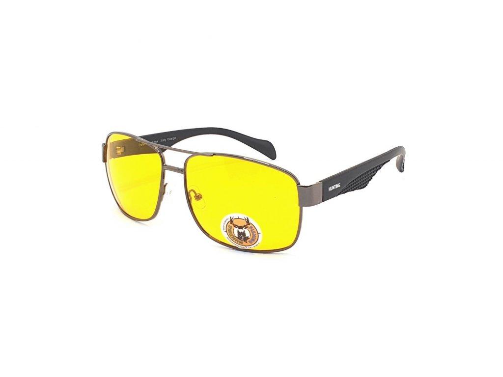 Polarizační brýle na noční vidění pro řidiče HP1.01 CAT.1 GREY
