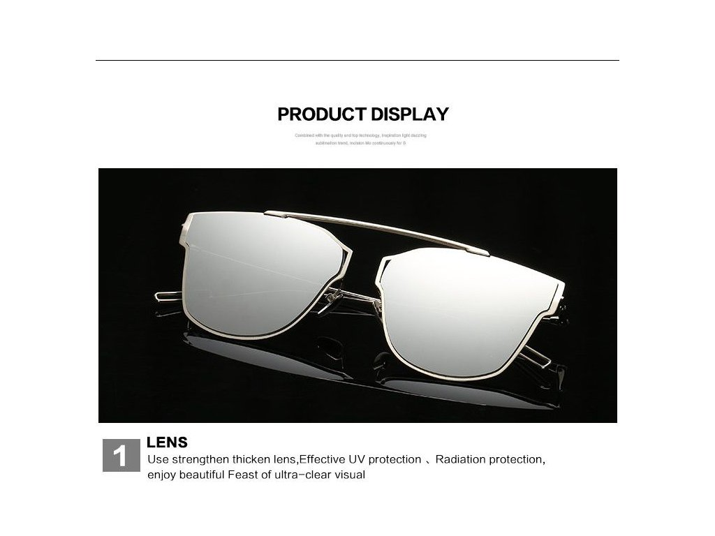 Sluneční brýle AEVOGUE luxury sun glasses