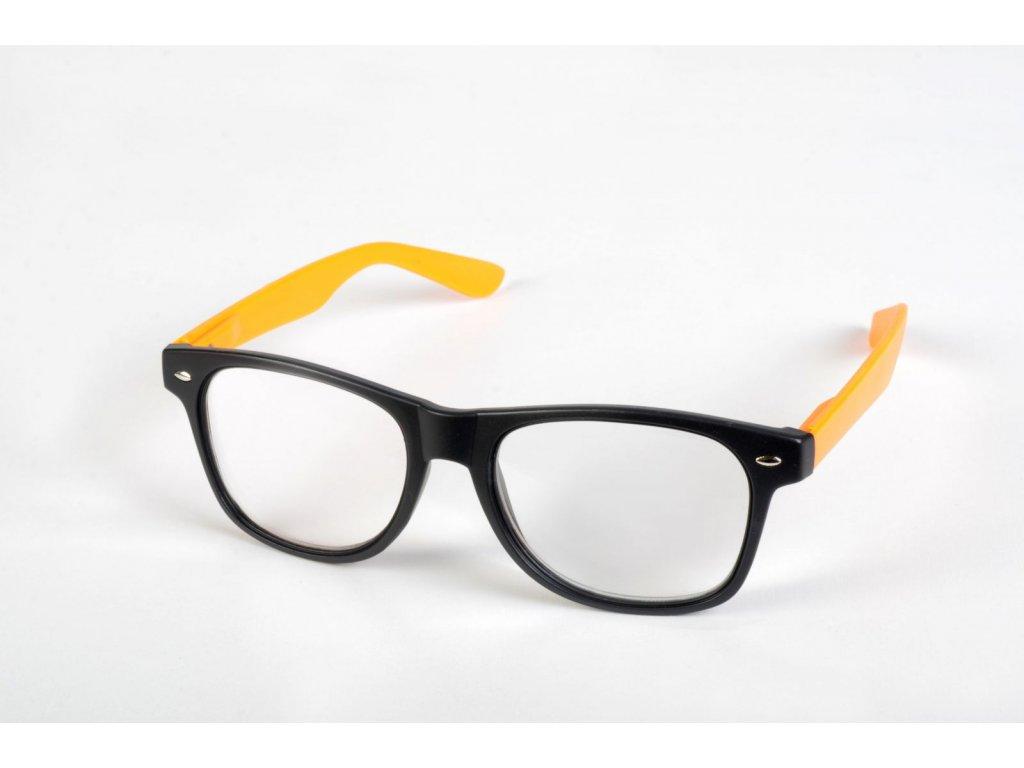 Dioptrické brýle LQ8132  +3,00 oranž.