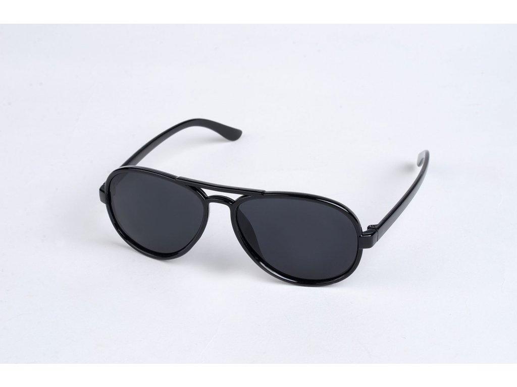 Polarizační DĚTSKÉ brýle černé P4489
